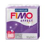 FIMO effect Modelliermasse, 57 g Glitter-lila