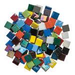 Mosaik Eis opak/irisierend, 200 g bunt-mix