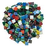 Mosaik Eis opak/irisierend, 1000 g bunt-mix