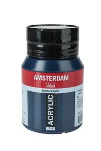 Amsterdam Acrylfarbe 500 ml, preussischblau