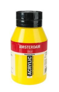 Amsterdam Acrylfarbe 1000 ml, primärgelb