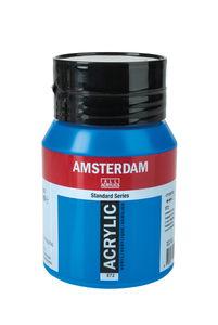 Amsterdam Acrylfarbe 500 ml, primärcyan