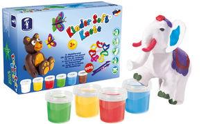 Feuchtmann Kinder Soft Knete Box, 12-teilig