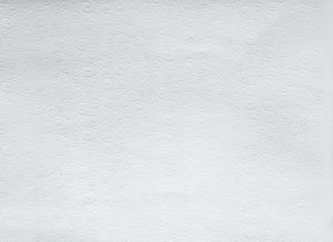 Prägekarton Milano, weiß (50 x 70 cm)