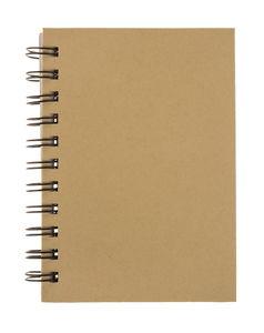 Notitieboekje met puntraster (A6) bruin, 80 vel
