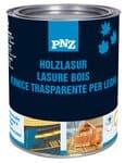 PNZ houtlazuur op oliebasis, rood, 250 ml