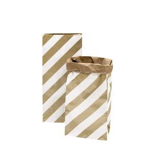 Rico Design® sacchetto di carta strisce230x135x510