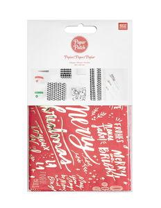 Papier Paper Patch Rico Design®, Lettre rouge /or