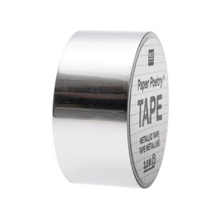 Mirror Metallic tape (19 mm x 3,5 m) zilver
