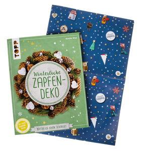 Duits boek: Winterliche Zapfendeko