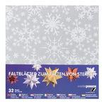 Papier Origami- Flocon de neige, env. 100 x 100 mm