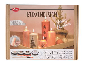 Inka-Silk set kaarsen design - Shining Christmas