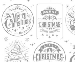 Magic papier - Merry Christmas (48 x 67 cm)