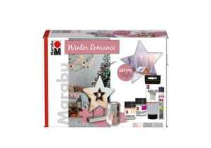 Marabu Home & Decoration set - Winter Romance