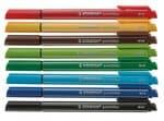 STABILO pointMax fineliners, bonte kleuren 8 stuks