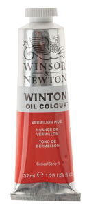 W&N Winton olieverf (37 ml) vermiljoenrood