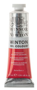 W&N Winton olieverf (37 ml) alizarin crimson