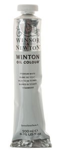 W&N Winton olieverf (200 ml) titaanwit