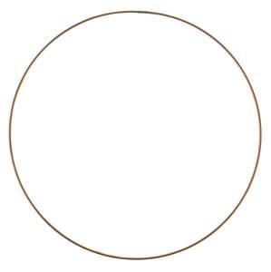 Anilla de alambre de cobre  (250 mm)