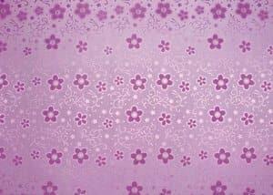 Glitzerkarton, 5 Bogen Blumen pink (50 x 70 cm)
