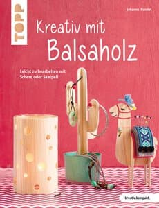 Créatif avec du bois de balsa, Livre en Allemand