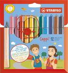 STABILO® Cappi® 12 Feutres avec anneau