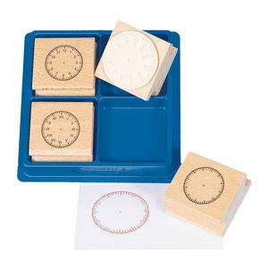 Houten stempels - Klokken (60 mm) 4 stuks