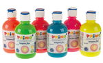 "..Schulmalfarben Set 6 Flaschen A 300ml ""neon"""