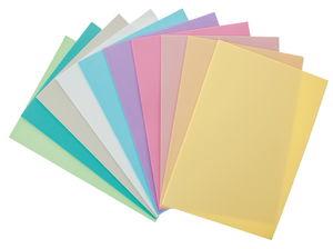Foam platen - pastel (20 x 29 cm) 10 stuks