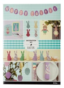 Bastelset-Happy Easter, pastellfarben