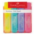 FABER-CASTELL tekstmarkers 1546, 4 stuks