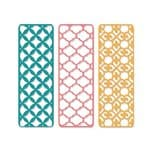 Sizzix Thinlits Die - Backgrounds, 3-delig
