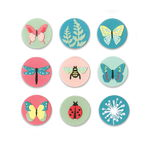 Sizzix Thinlits Die - Tiny Nature, 10-delig