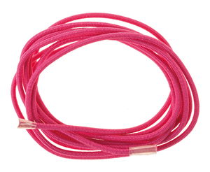 Elastisch koord, speekselvast (1,5 m) roze