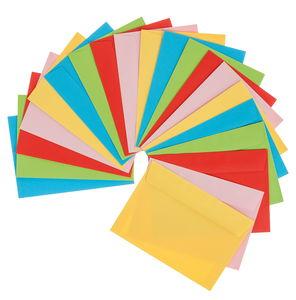 Enveloppen (C6) in 5 kleuren, 20 stuks