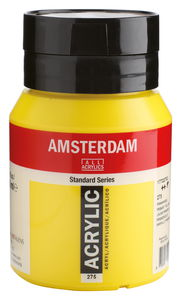 Amsterdam Acrylfarbe 500 ml, primärgelb