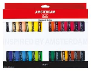 Amsterdam Acrylfarben Set (24 x 20 ml)