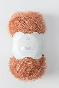 Creative Bubble garen (50g/90m) bruin