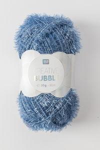 Creative Bubble garen (50g/90m) blauw