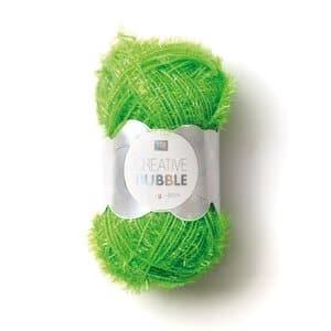 Creative Bubble garen (50g/90m) neongroen