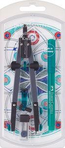 FABER-CASTELL Schnellverstellzirkel mit Adapter
