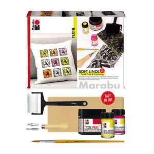 Marabu Soft Linol - textieldruk set