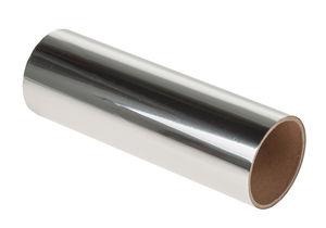 Decoratieve folie (15,5 x 50 cm) zilver
