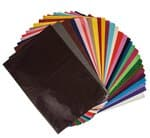 Megaset zijdepapier (50 x 70 cm) bont, 300 vel
