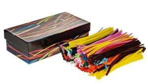 Fil chenille, 700 pièces couleurs
