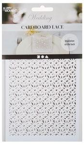 Karton mit Blumenmotiv, 10 Stück (10,5 x 15 cm)