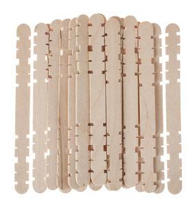 Houten staafjes - insteek systeem, 1000 stuks
