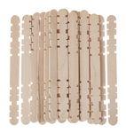 Holzstäbchen zusammensetzbar, 1000 Stück natur