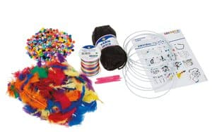 Kit de bricolage pour 10 attrape-rêves