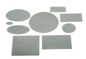 Kunststof spiegel vormen, 36 vormen op 4 vel